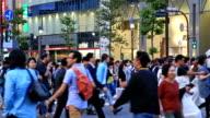 Shibuya Crossing video