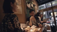 Shibuya Friends Aperitif Slow motion Tokyo Japan. video