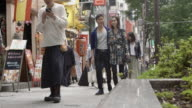 Shibuya Friends Walking Street Slow motion Tokyo Japan. video
