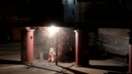 Shielded Arc Metal Welders, Shipyard, Saigon, Vietnam video