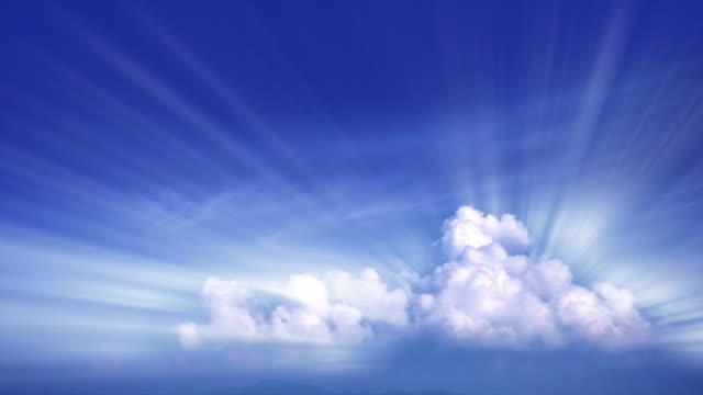 Shine cloudscape video