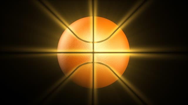 Shining basketball HD1080 video