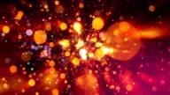Shining disco lights video