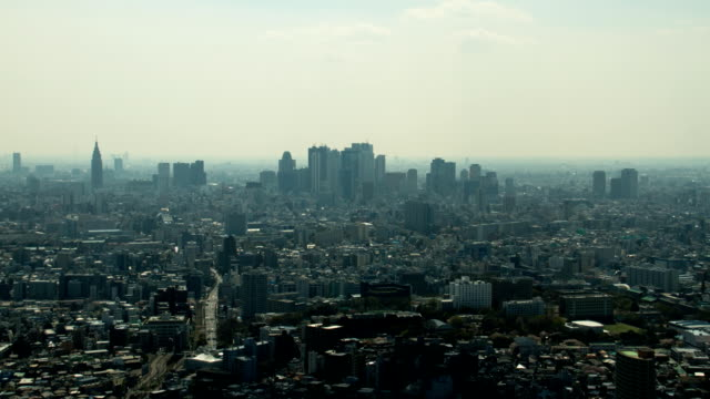 Shinjuku group of buildings video