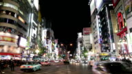 Shinjuku Kabukicho at night in japan video