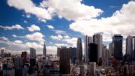 Shinjuku Time Lapse video
