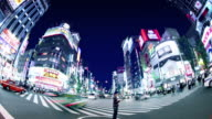 Shinjuku Tokyo Japan video