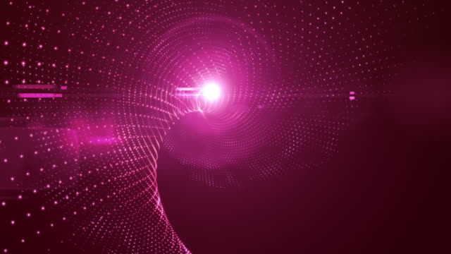 Shiny Abstract Background Animation With Lens Flare video