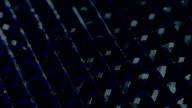 Shiny dark rhinestones. video