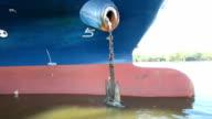 Ship anchor video