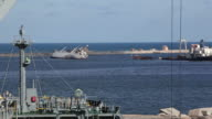 Ship collision video