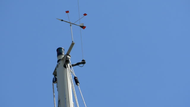 Ship Mast With Anemometer video