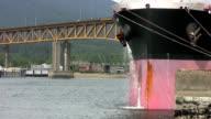 Ship Purging Water (HD 1080p30) video