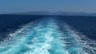 Ship / Vessel wakes. 20080813120721 video