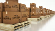 4K Shipping video