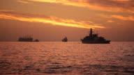 Ships at Dusk video