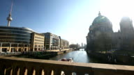 Ships on the Spree River, Dom in Berlin video