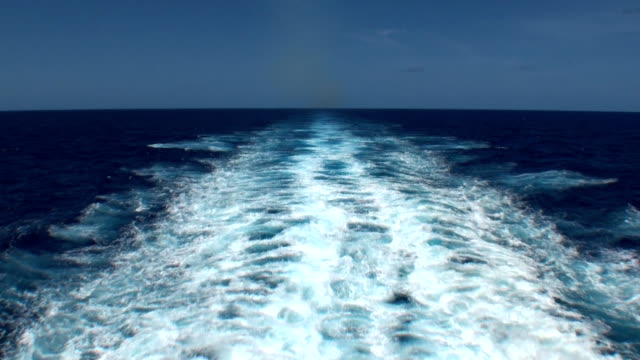 Ships Wake - Trans-Atlantic Crossing video