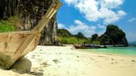 Shipwreck in krabi thailand video
