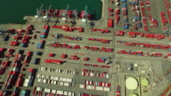 Shipyard Aerial video