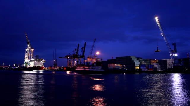 Shipyard, time lapse video