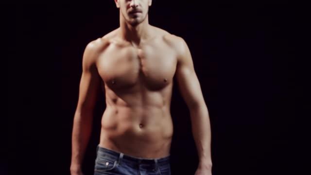 Shirtless guy video