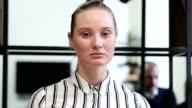 Shock, Upset Woman Portrait video