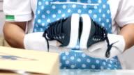 shoe quality inspection process video