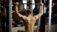 Sholder (Military) press seated in smith machine video
