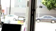 Shopper walks into store video