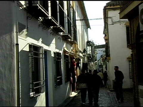 Shopping Alley in Cordoba Spain video