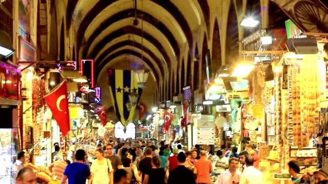 Shopping at Egyptian Bazaar - Spice Market video