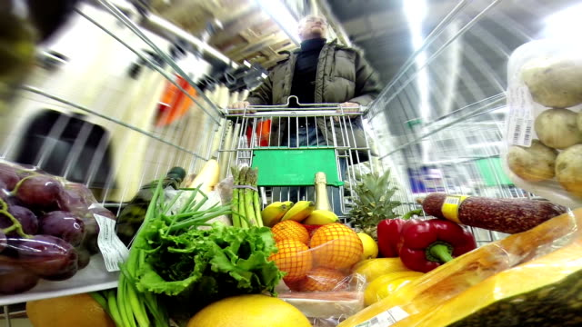Shopping at the Supermarket video