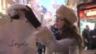 Shopping bag cafe video