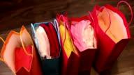 Shopping bags video