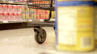 Shopping Cart in Store - Dolly video