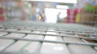 Shopping cart timelapse video