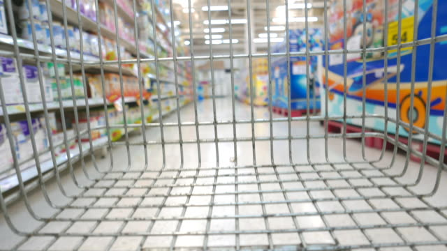HD Shopping cart timelapse video