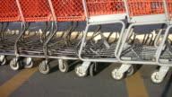 Shopping carts. video