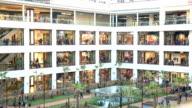 Shopping center video