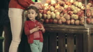 Shopping for Apples video