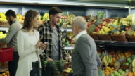 Shopping for groceries video