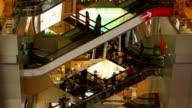 Shopping Mall Escalator Time-Lapse video