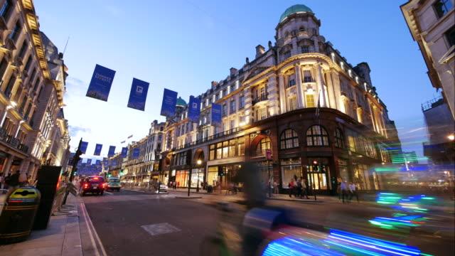 4K Shopping on Oxford street, London video