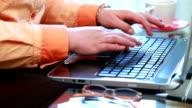 Shopping Online Using Laptop Computer video