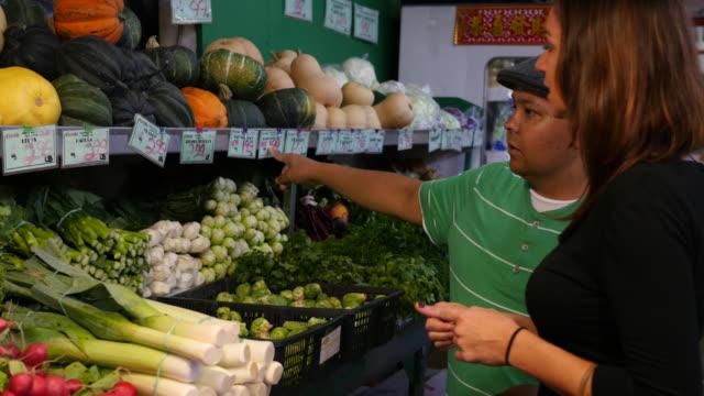 Shopping veggies video