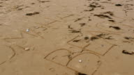 Shore of the Omaha Beach in Normandy France video