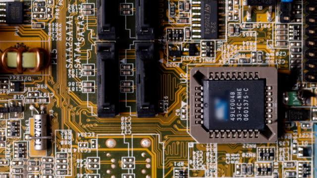 short circuit, burns computer chip video