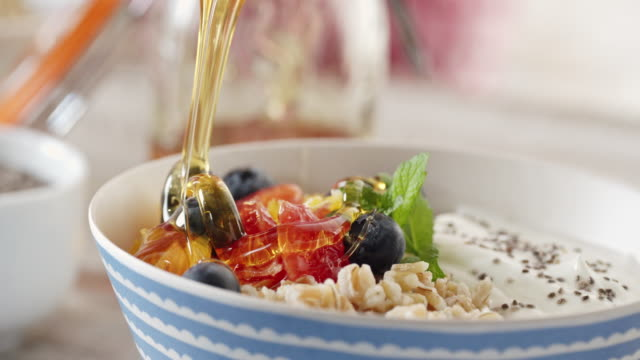 Short Grained Rice with Yoghurt and Fresh Fruits video