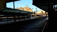 Short train departing Preston station video